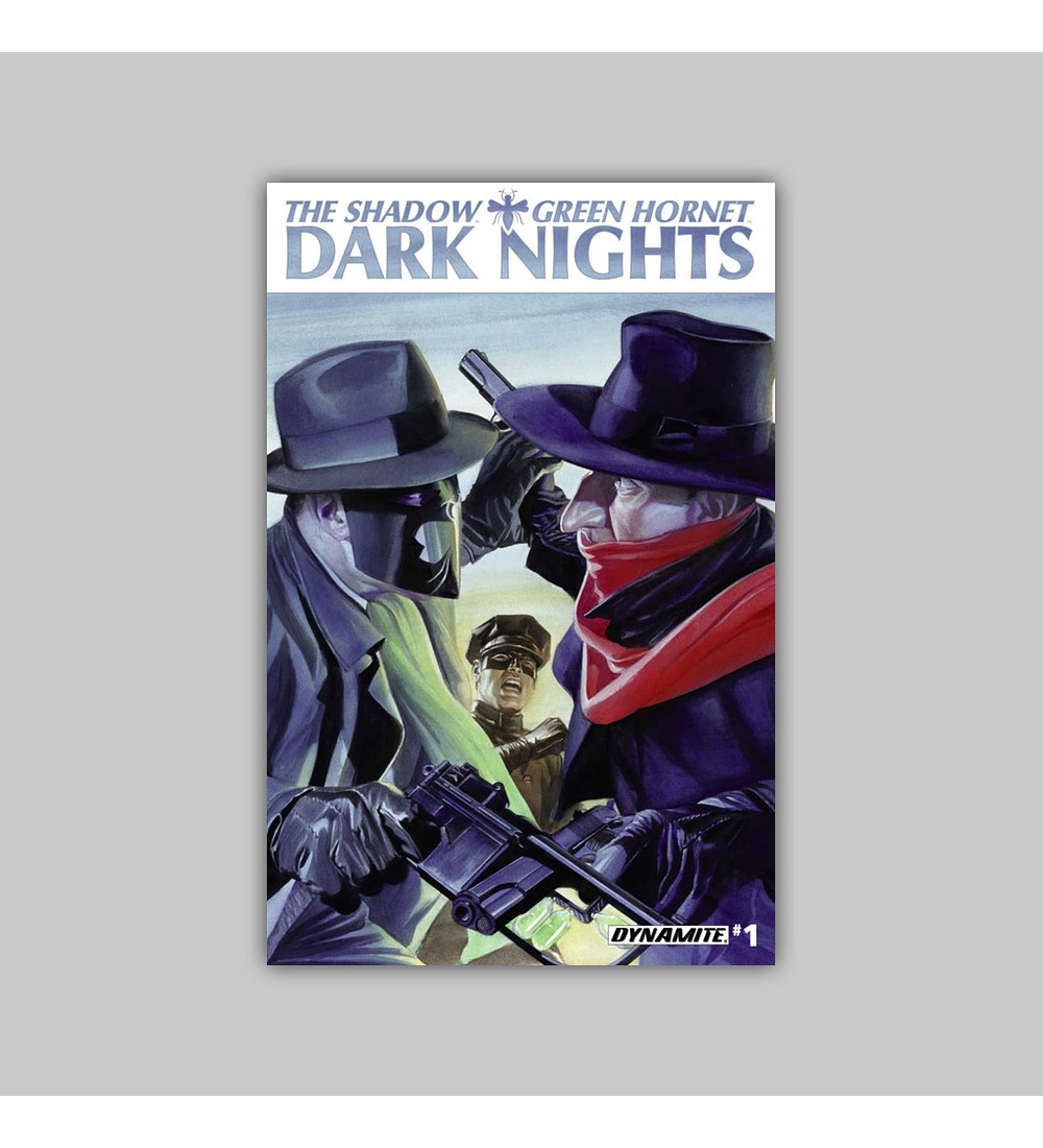 Shadow/Green Hornet: Dark Nights 1 2013
