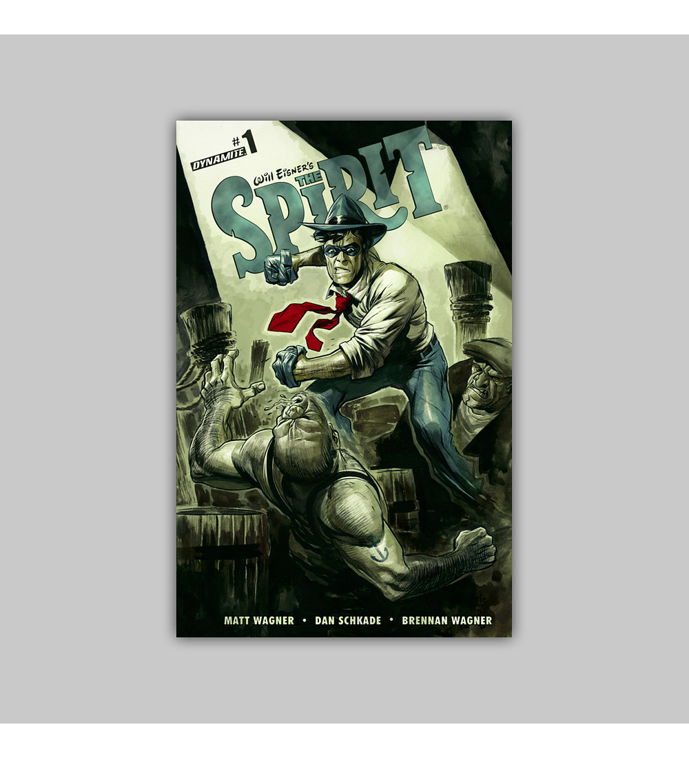 Will Eisner's the Spirit 1 2015