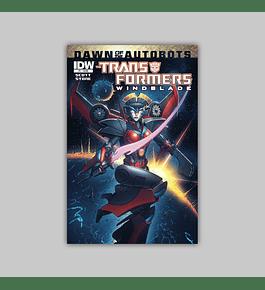 Transformers: Windblade 1 2014