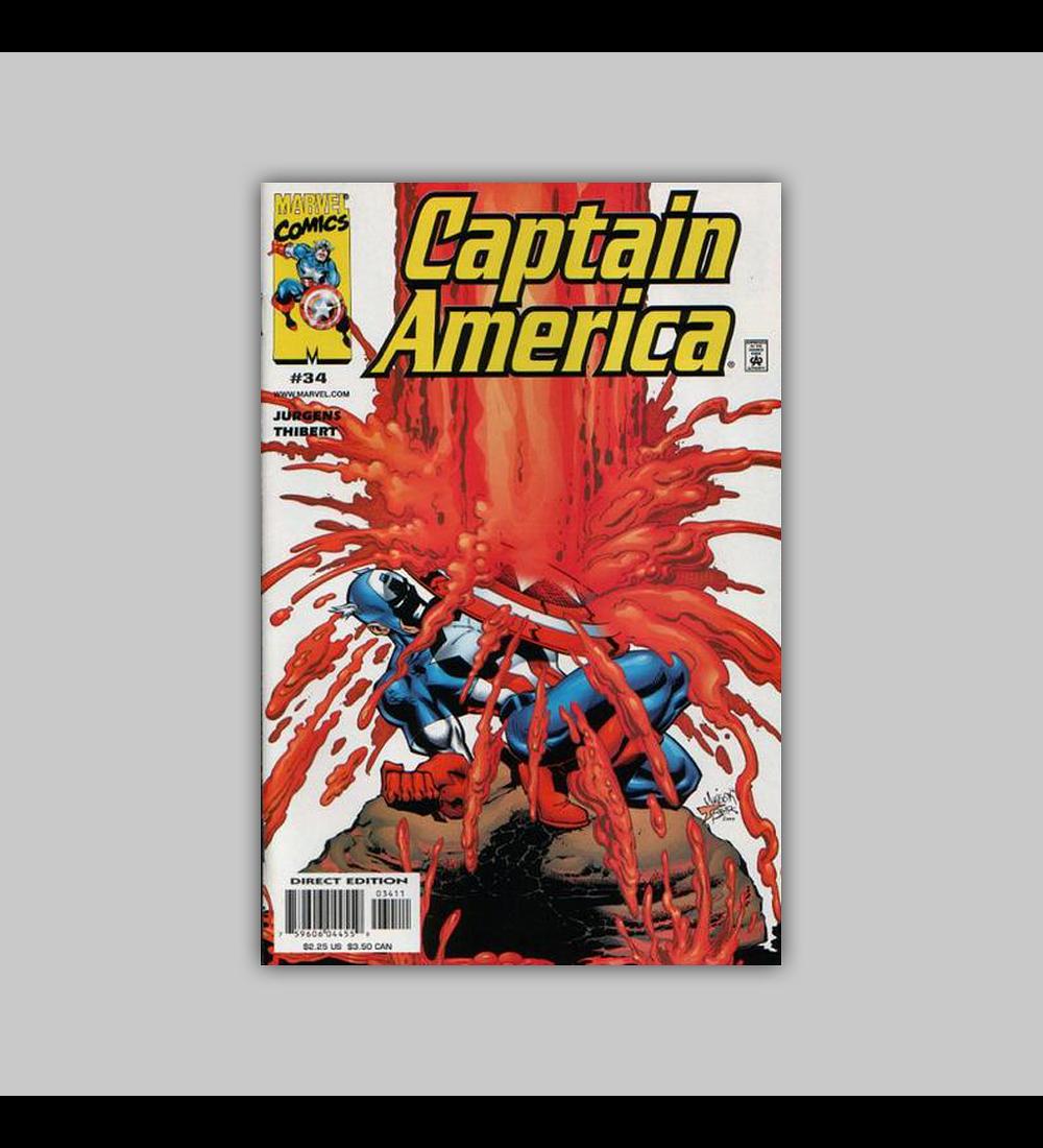 Captain America (Vol. 3) 34 2000