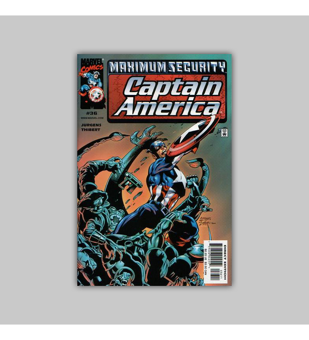 Captain America (Vol. 3) 36 2000