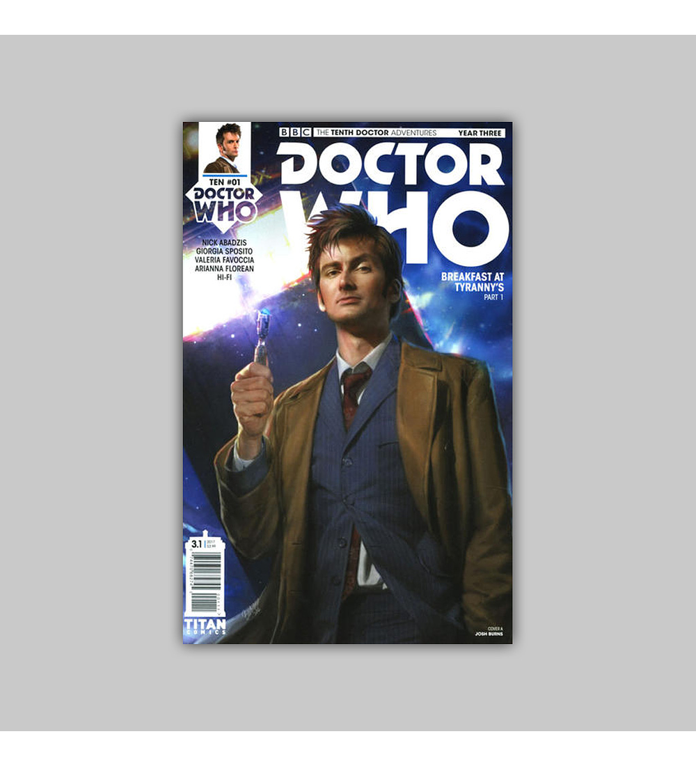 Doctor Who: The Tenth Doctor Year Three 1 2016