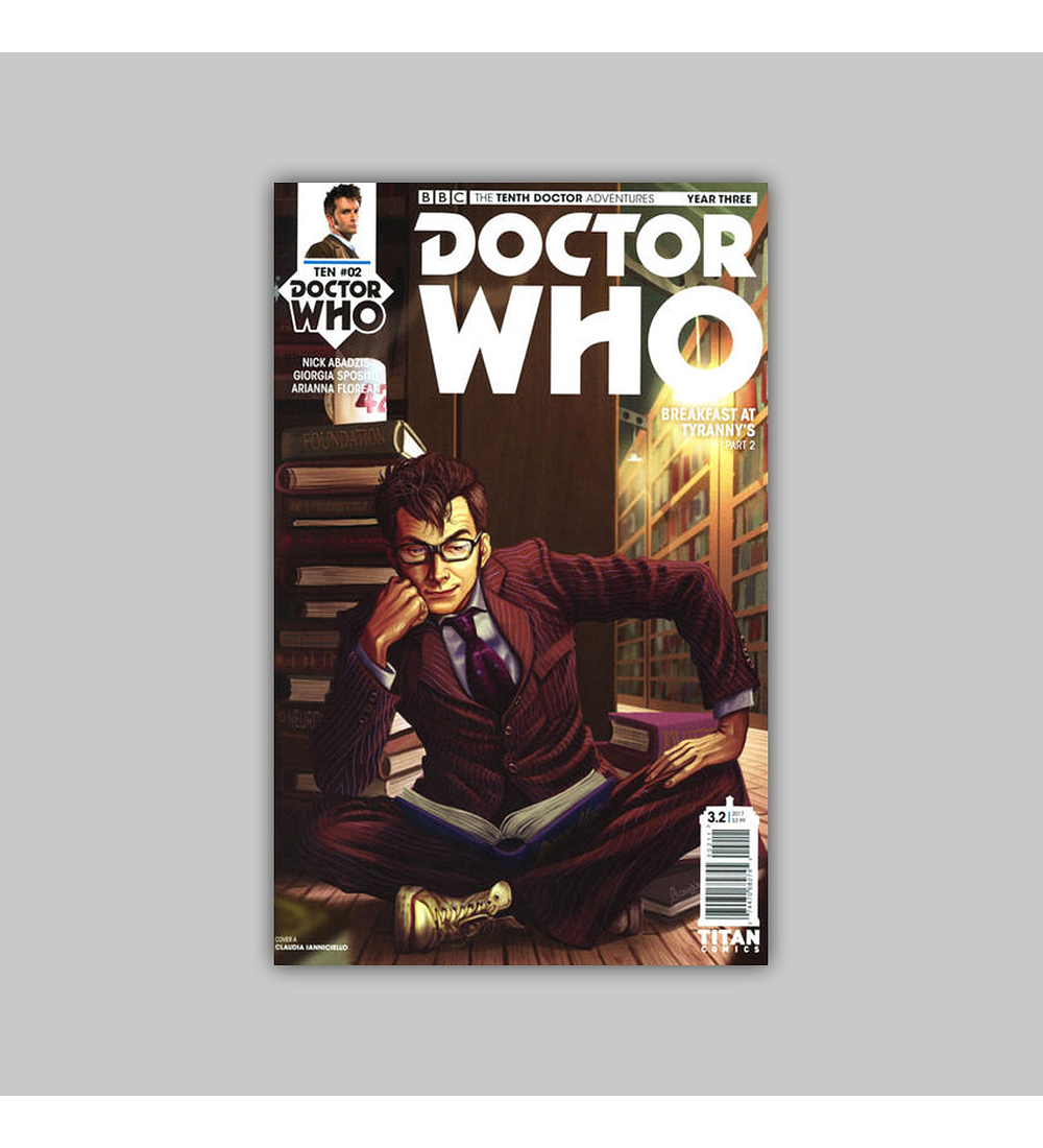 Doctor Who: The Tenth Doctor Year Three 2 2017