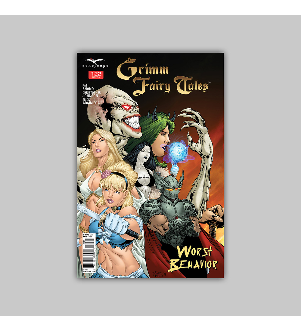 Grimm Fairy Tales 122 2016