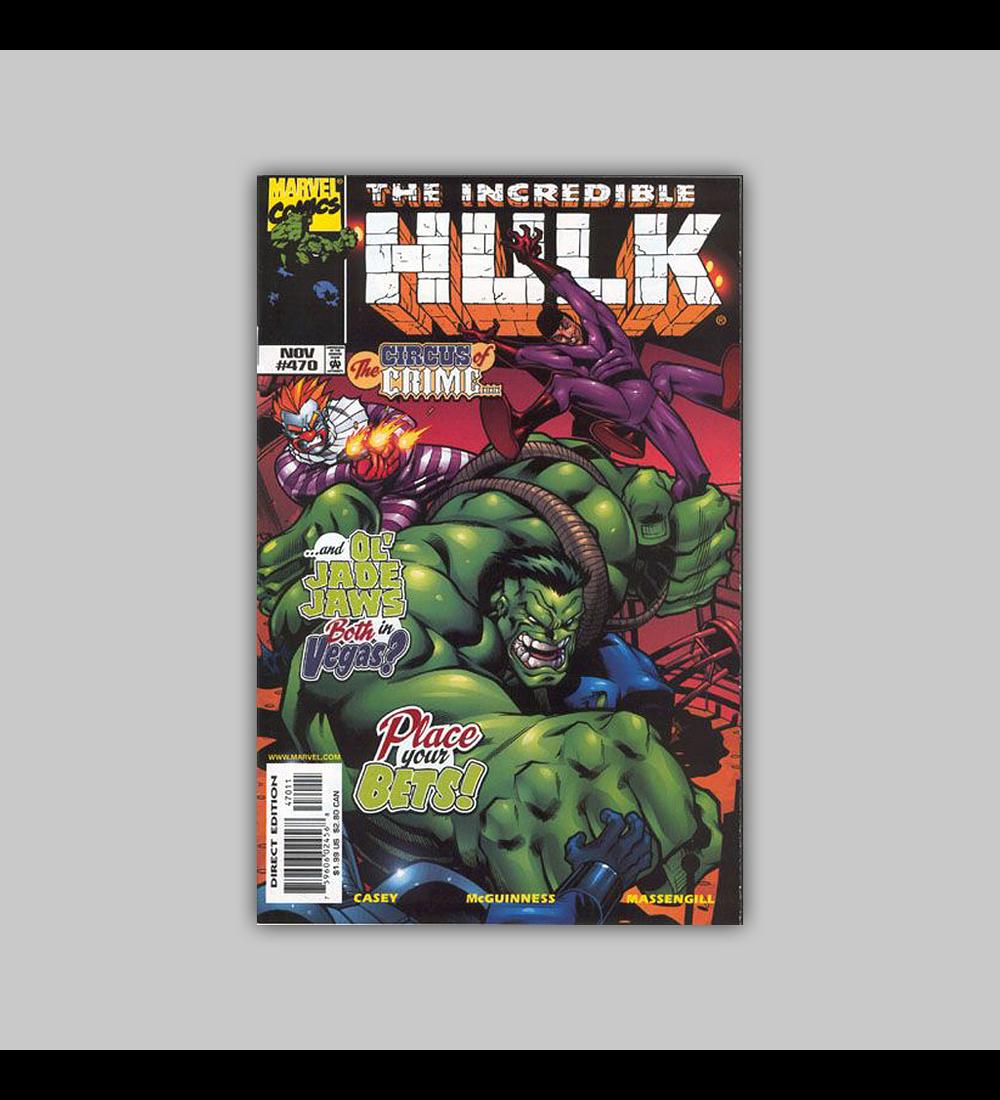 Incredible Hulk 470 1998