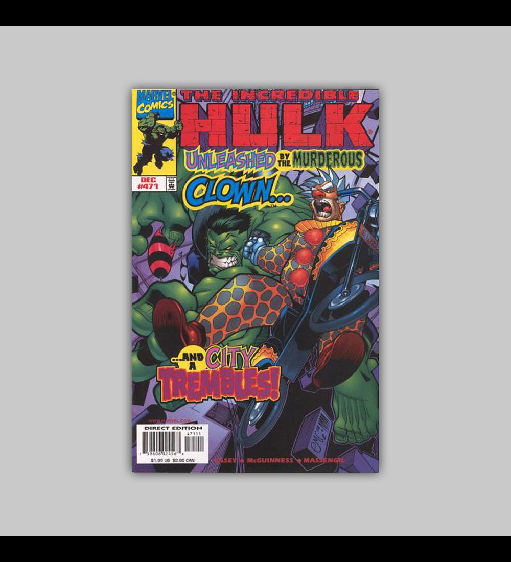 Incredible Hulk 471 1998