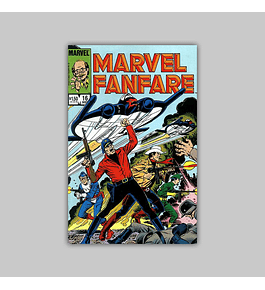 Marvel Fanfare 16 1984