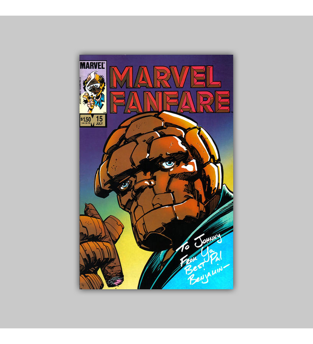 Marvel Fanfare 15 1984