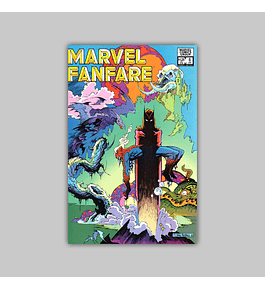 Marvel Fanfare 6 1983