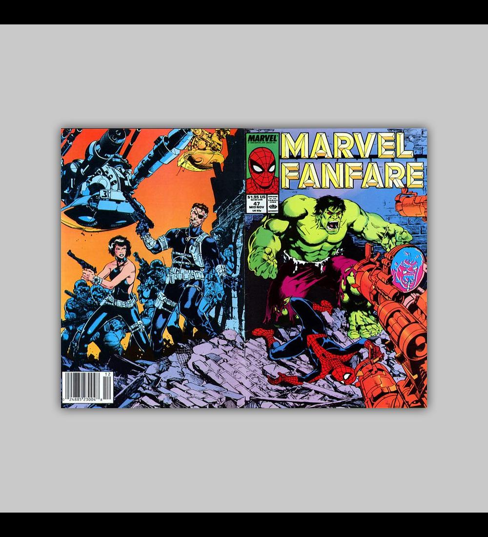 Marvel Fanfare 47 1989