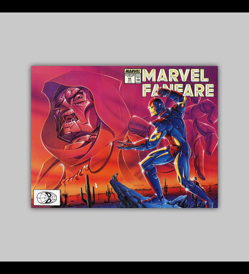 Marvel Fanfare 44 1989