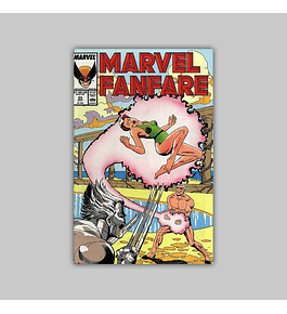 Marvel Fanfare 33 1987