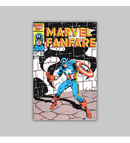 Marvel Fanfare 31 1987