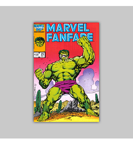 Marvel Fanfare 29 1986
