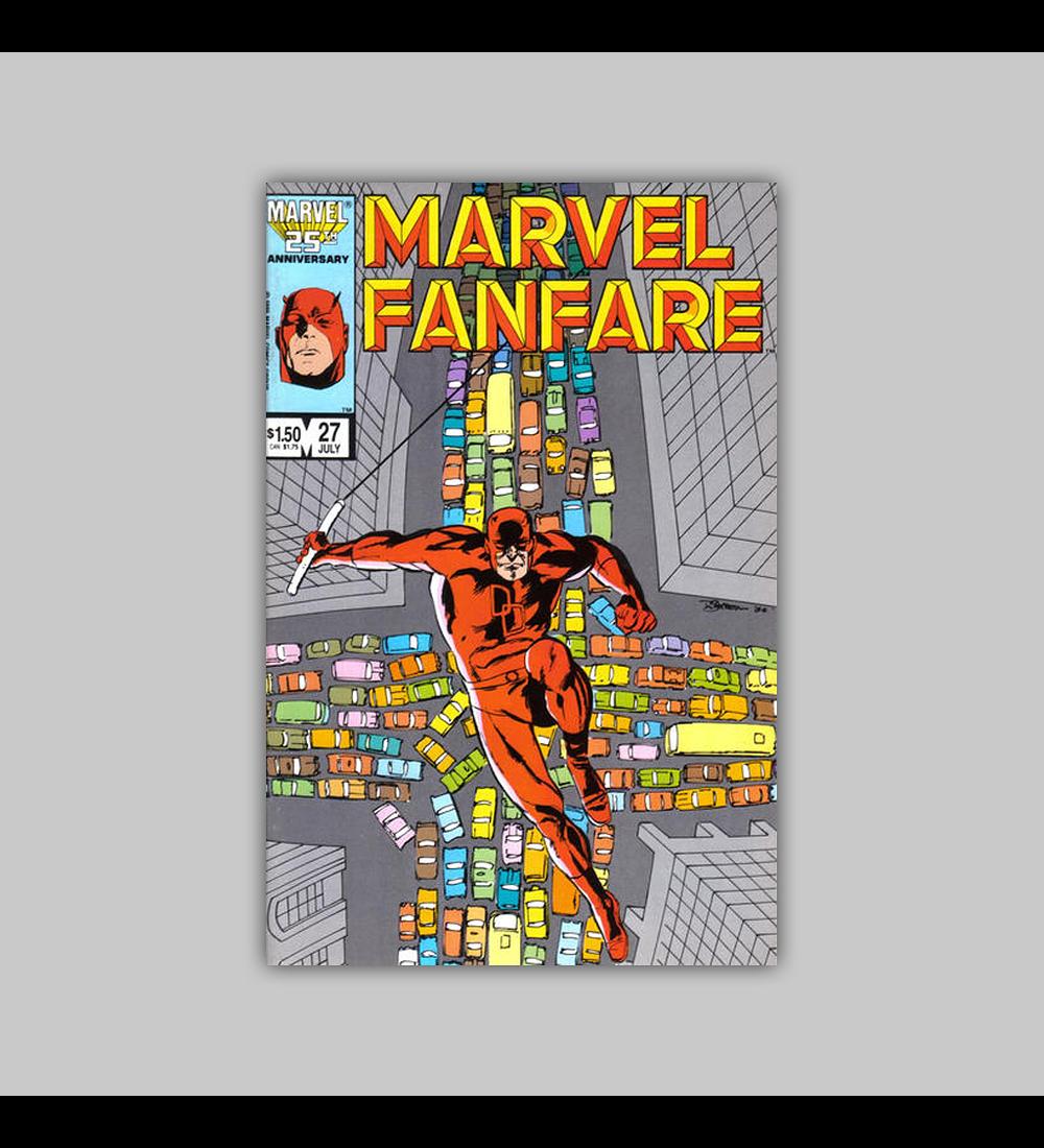 Marvel Fanfare 27 1986