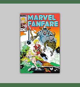 Marvel Fanfare 24 1986