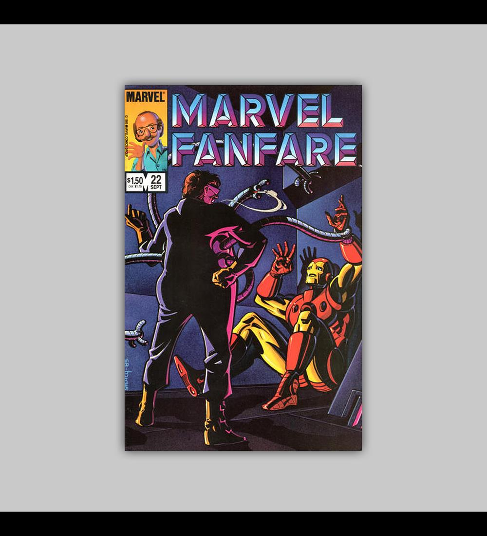 Marvel Fanfare 22 1985
