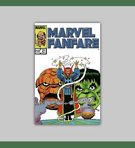 Marvel Fanfare 21 1985