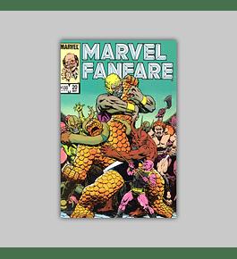 Marvel Fanfare 20 1985
