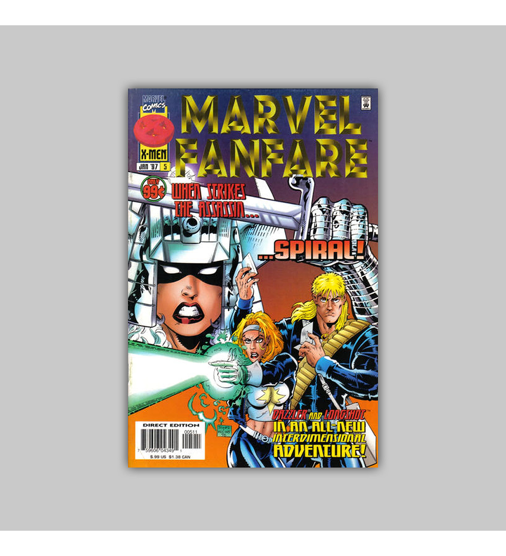 Marvel Fanfare (Vol. 2) 5 1997