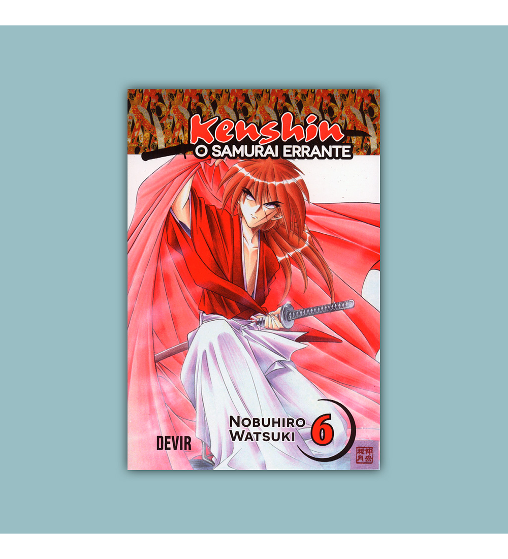 Kenshin: O Samurai Errante Vol. 06 2017