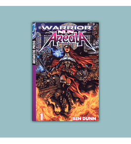 Warrior Nun Areala Color Manga Vol. 01 2005