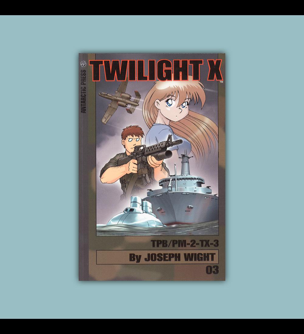 Twilight X Pocket Manga Vol. 03 2003
