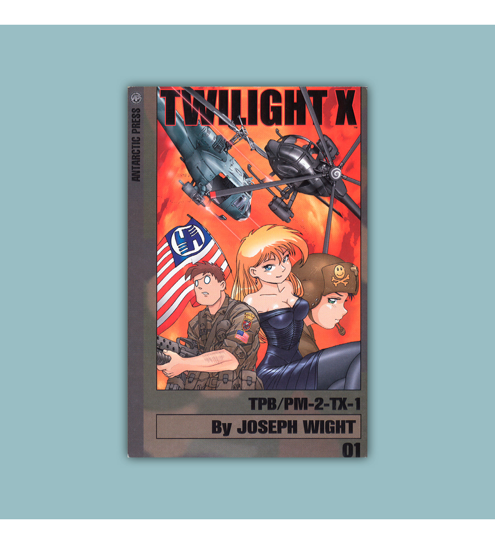 Twilight X Pocket Manga Vol. 01 2003