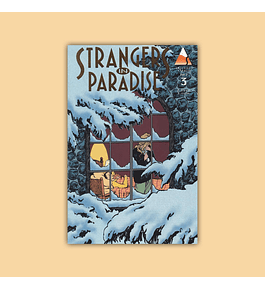 Strangers in Paradise (Vol. 2) 3 Gold Logo Edition 1997