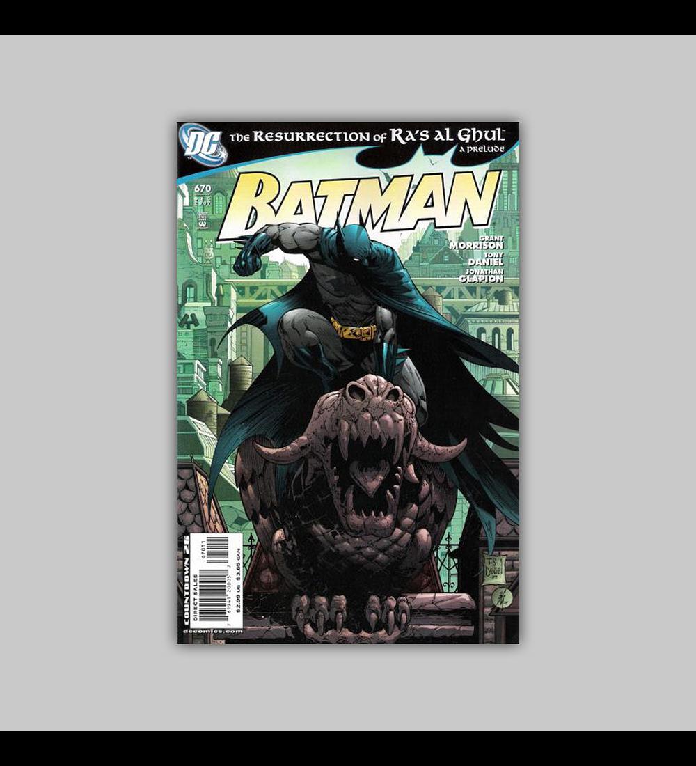 Batman 670 2007