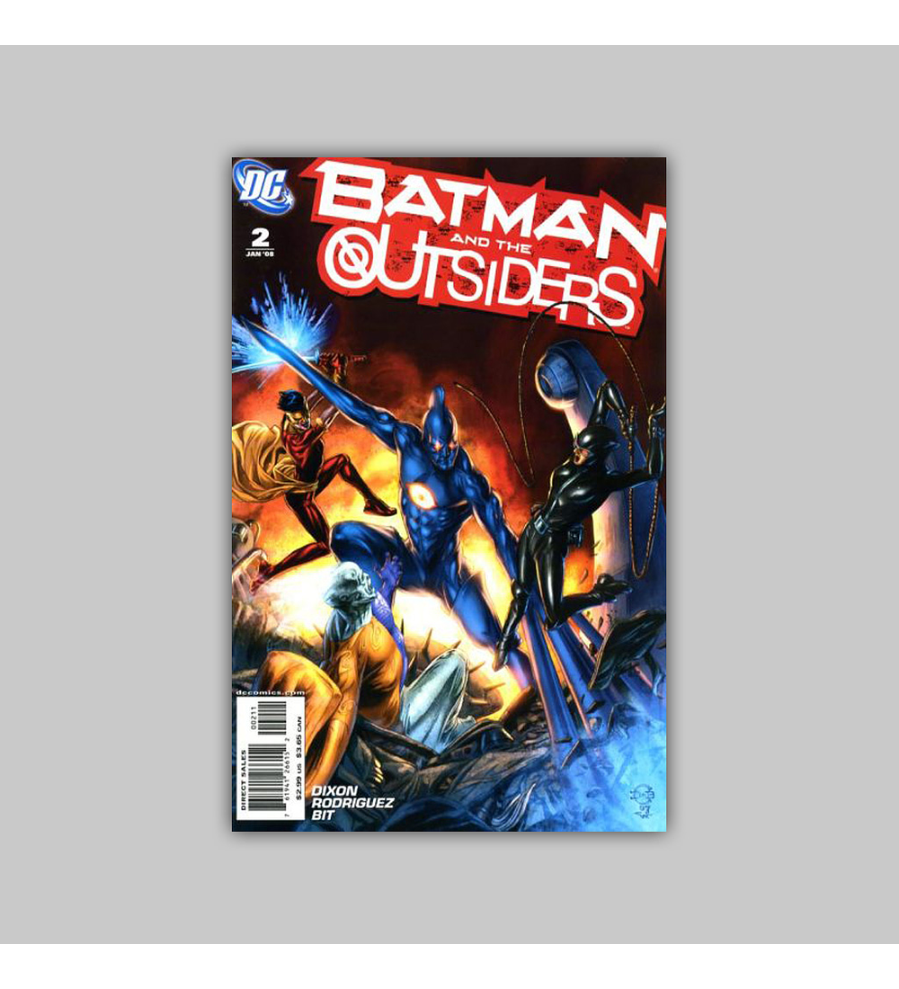 Batman and the Outsiders 2 2008