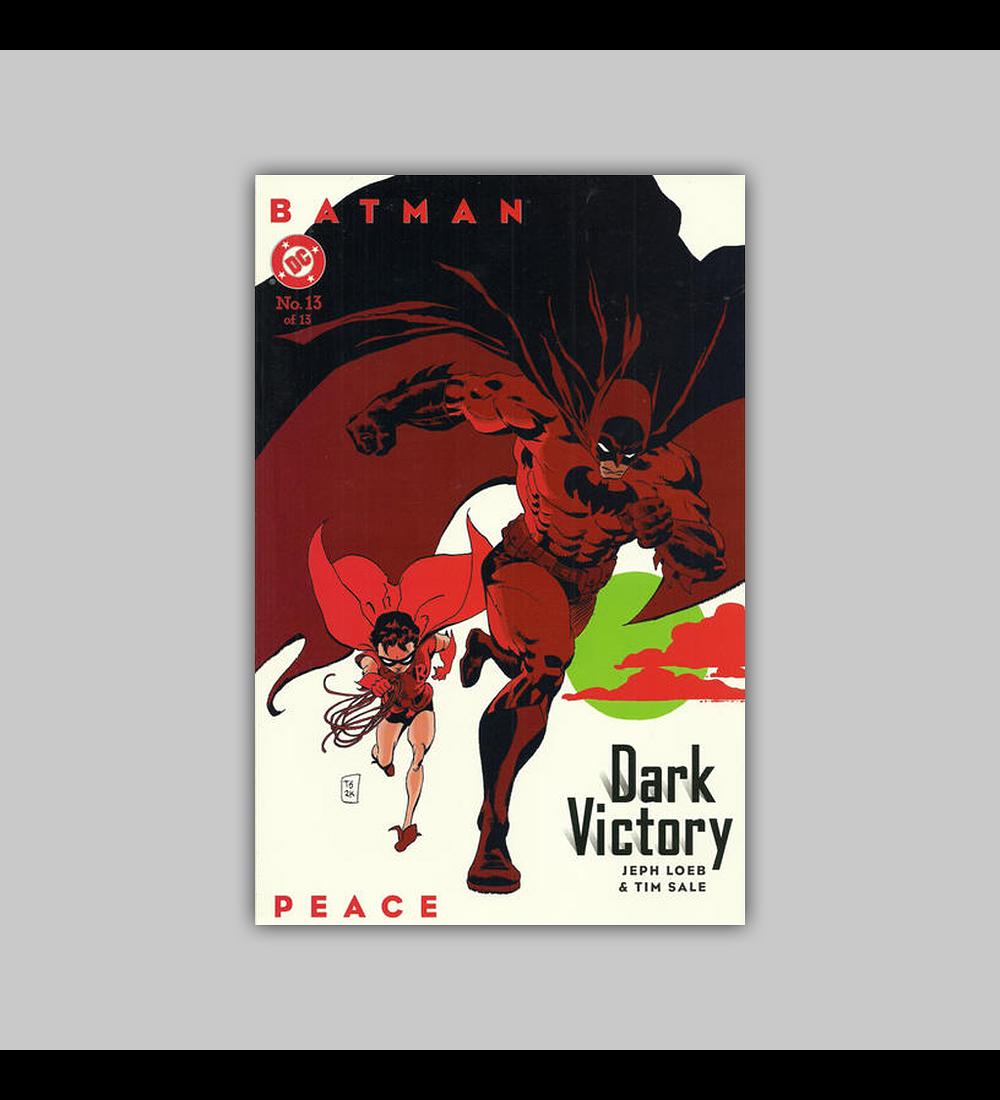 Batman: Dark Victory 13 2000