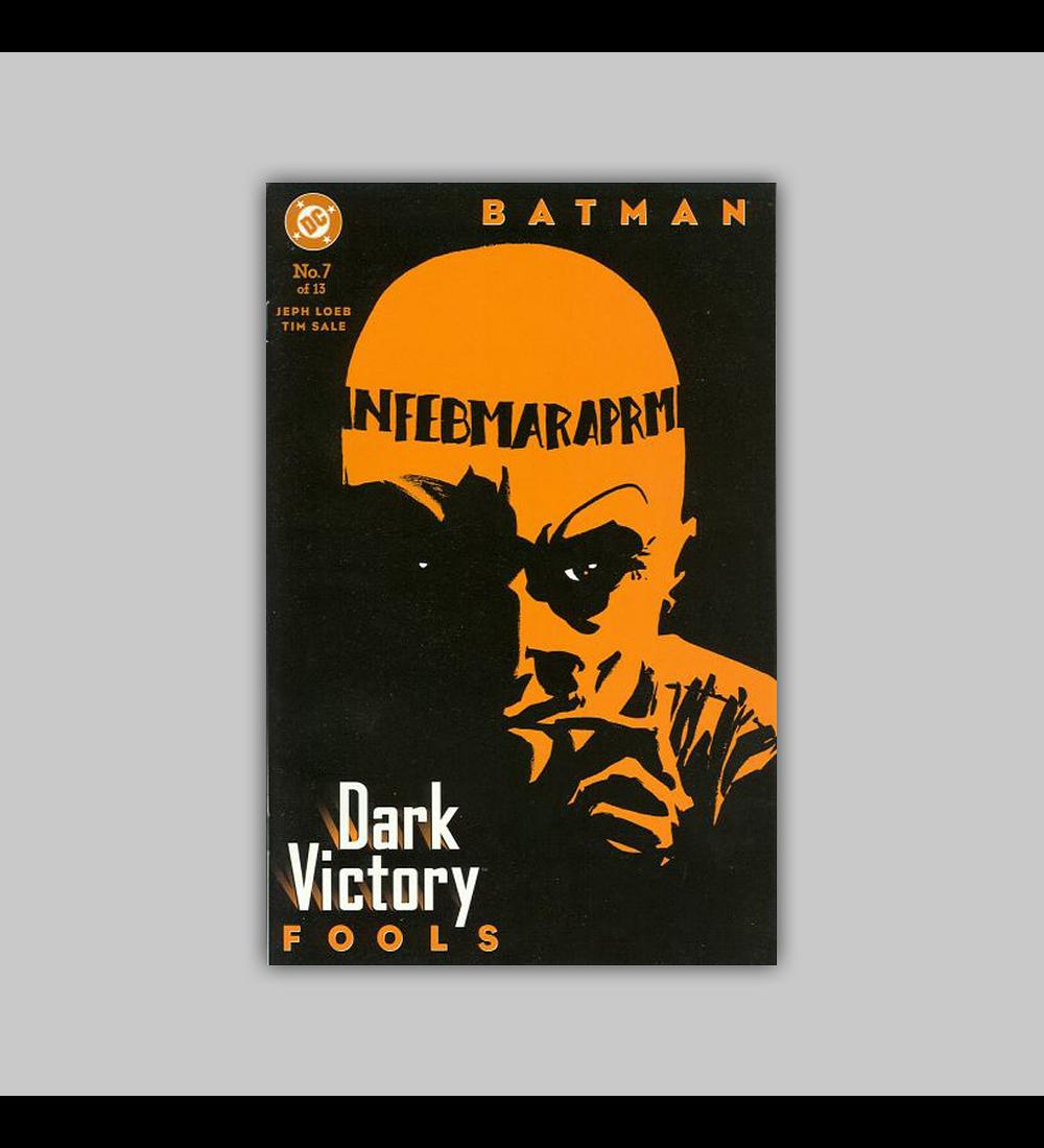 Batman: Dark Victory 7 2000