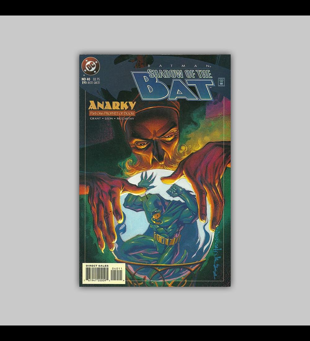Batman: Shadow of The Bat 40 1995