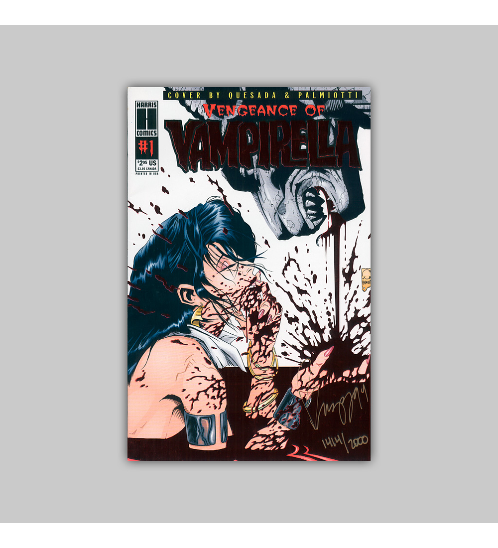 Vengeance of Vampirella 1 Signed 1994