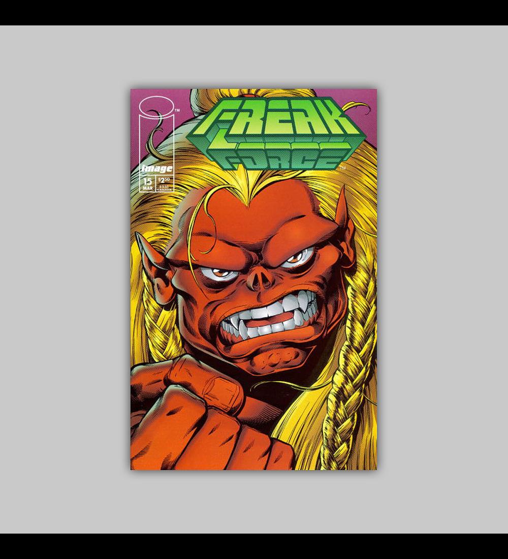 Freak Force 15 1995