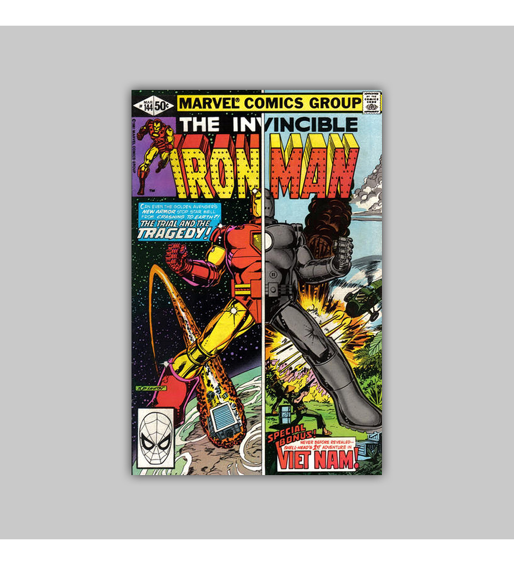 Iron Man 144 1981