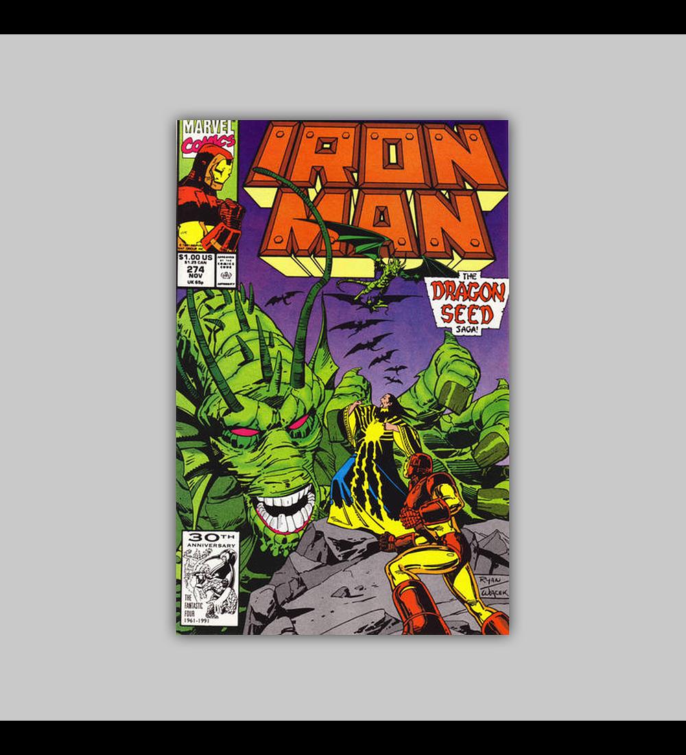 Iron Man 274 1991