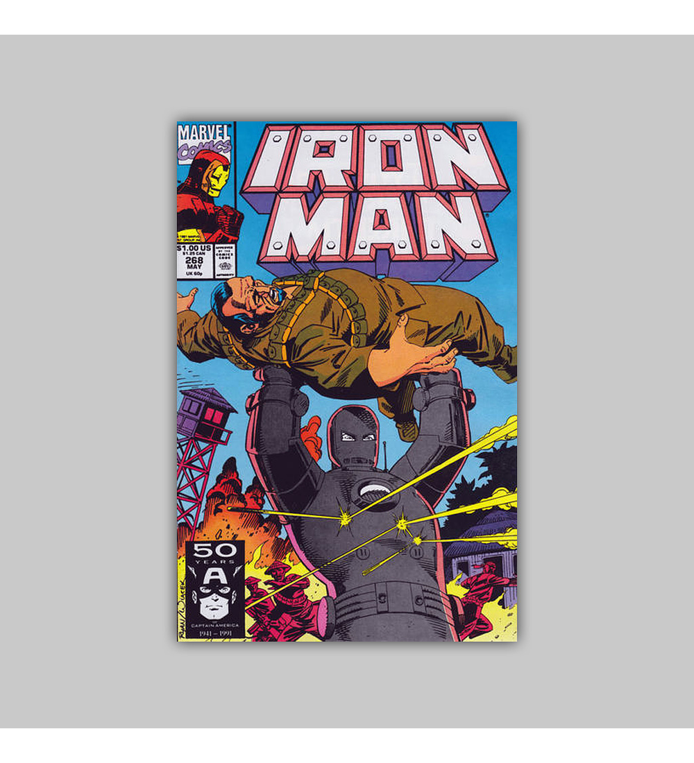 Iron Man 268 1991