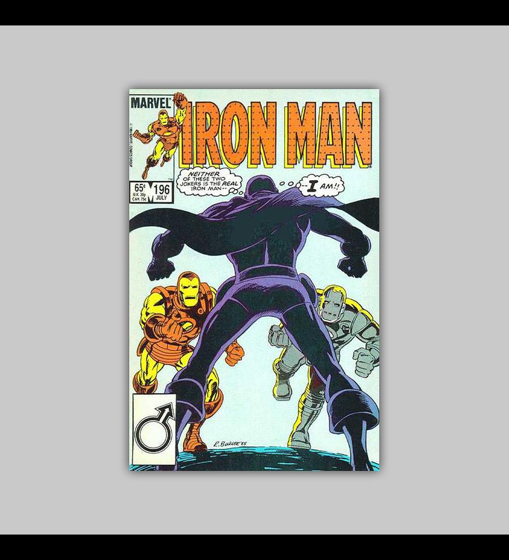 Iron Man 196 1985
