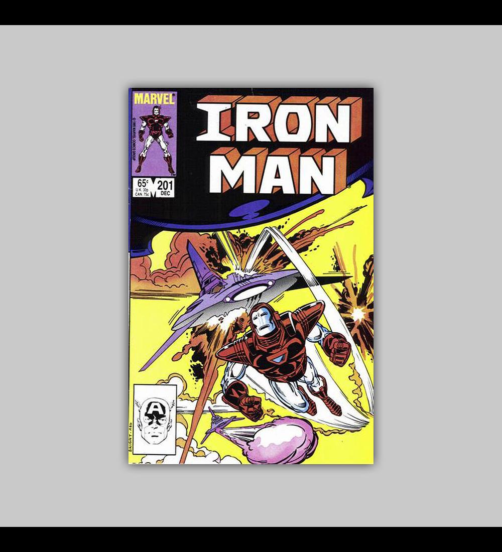 Iron Man 201 1985
