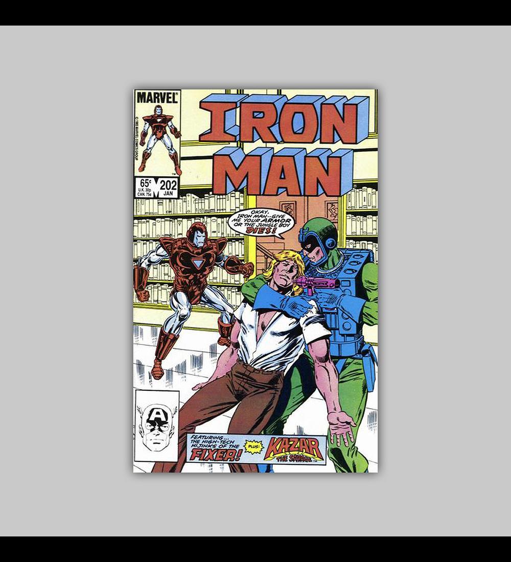 Iron Man 202 1986