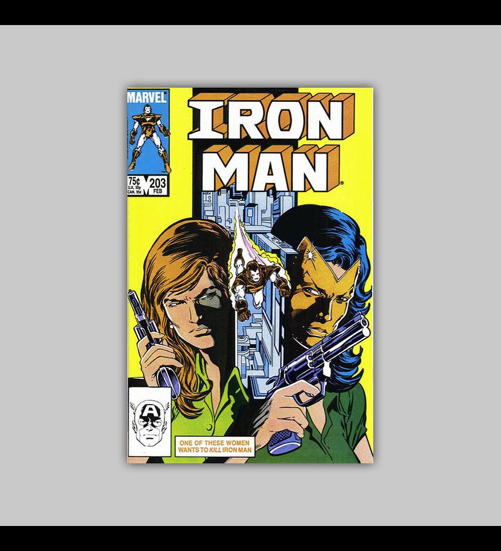 Iron Man 203 1986