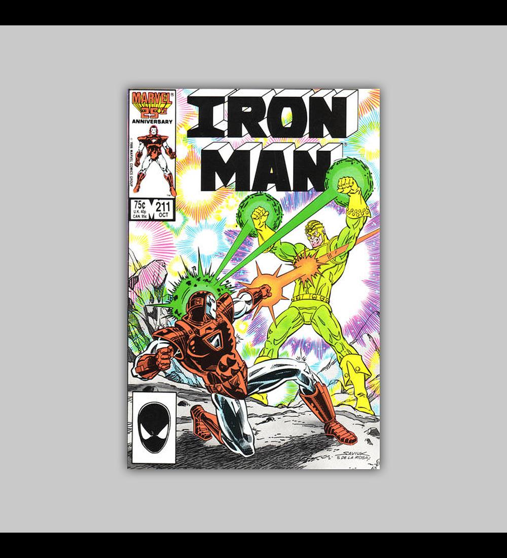 Iron Man 211 1986