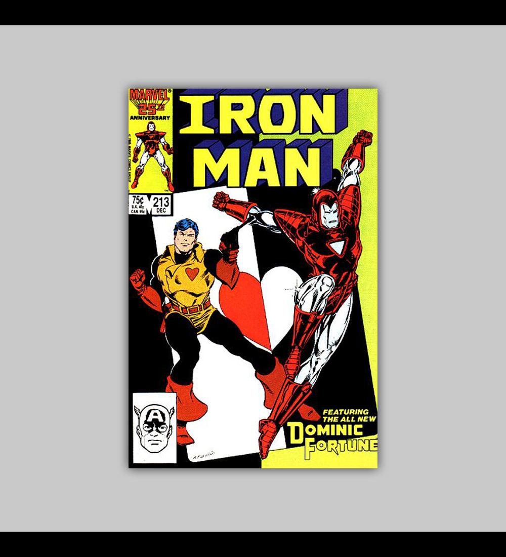Iron Man 213 1986