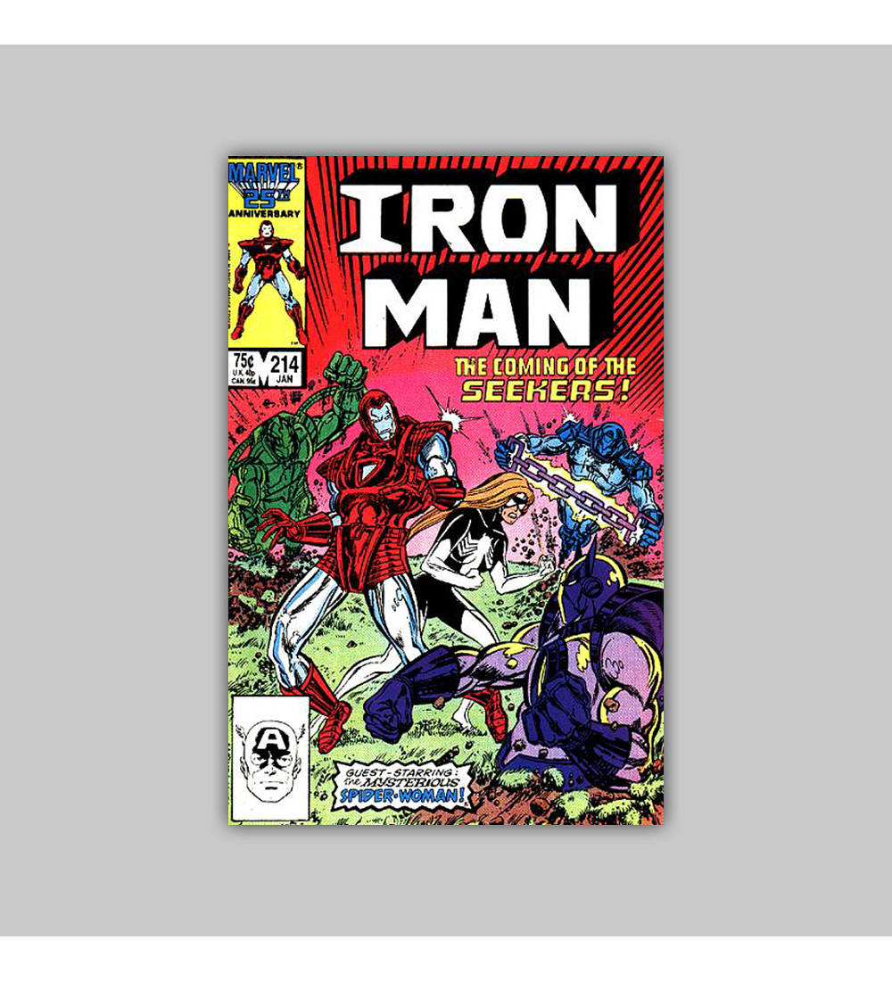 Iron Man 214 1987
