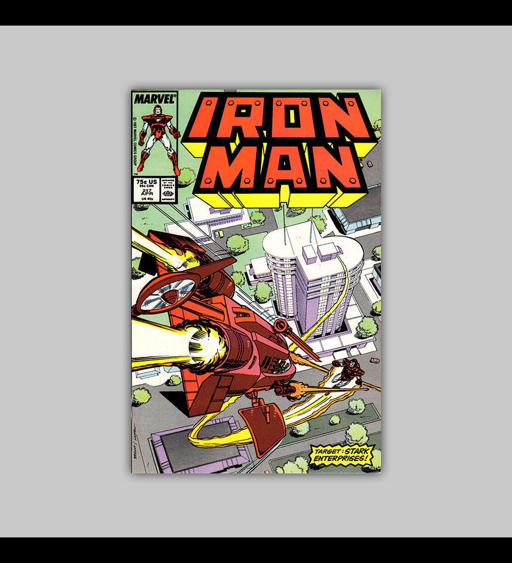 Iron Man 217 1987