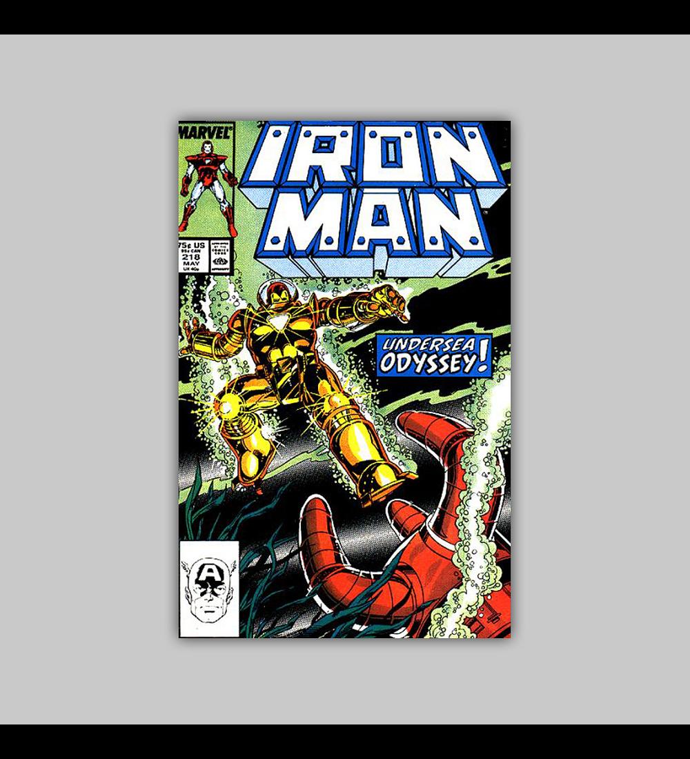 Iron Man 218 1987