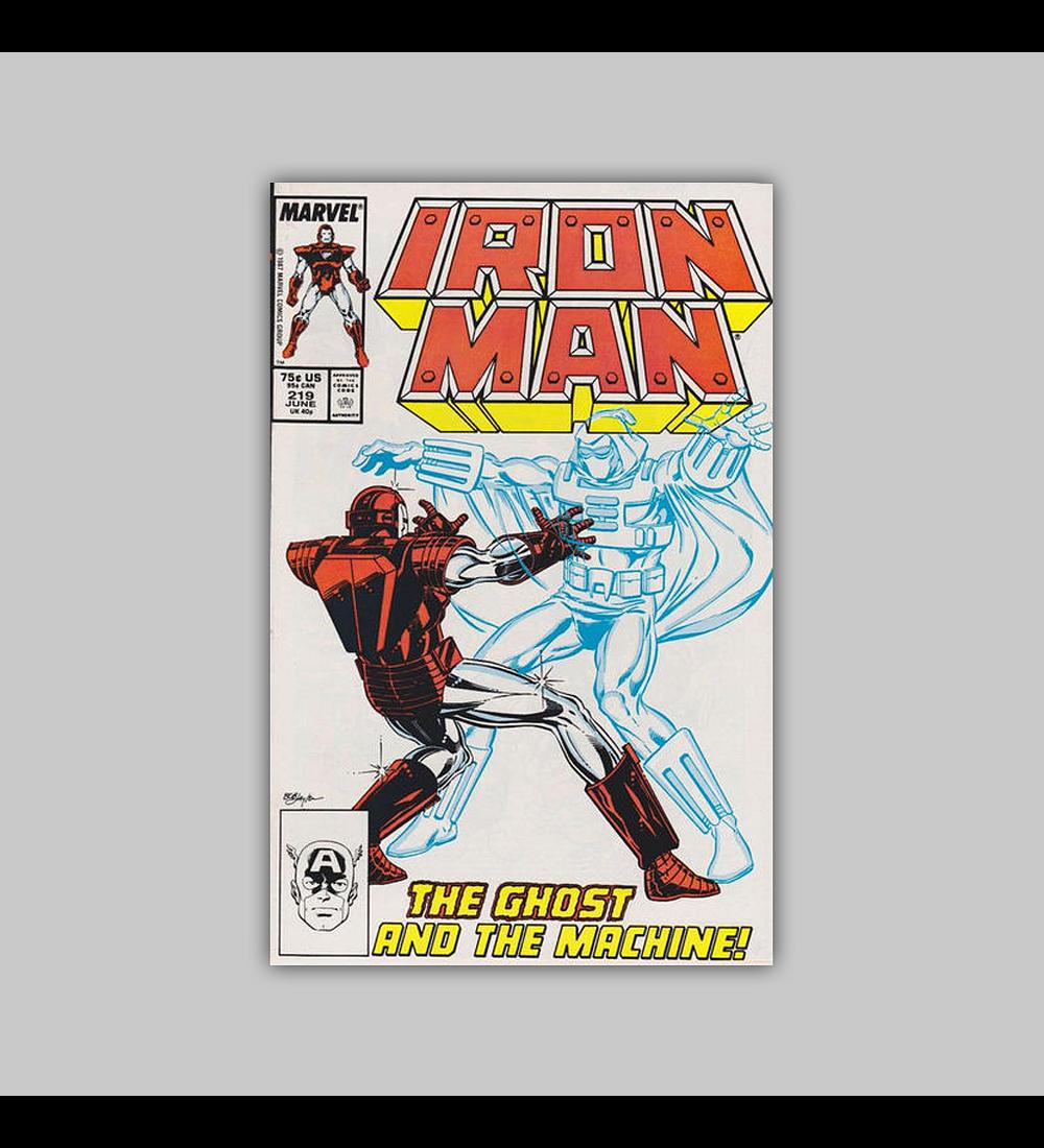 Iron Man 219 1987