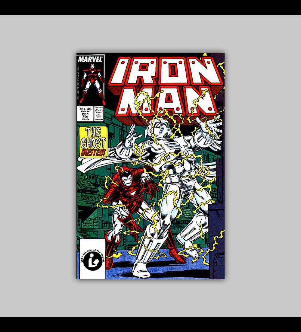 Iron Man 221 1987